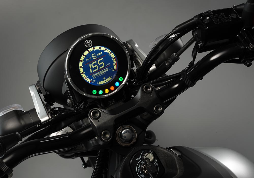 Yamaha XSR155-Instrument Cluster